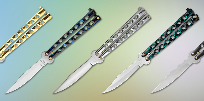 Bestselling balisong butterfly knives for cheap on Grindworx. Perfect for beginners or balisong enthusiasts on a budget.